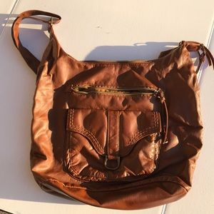Brown loose purse